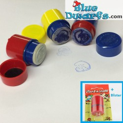 Rode stempel grote smurf
