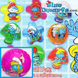 9x Smurf inflatables