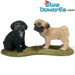 Schleich Animals: Pug puppies (16383)
