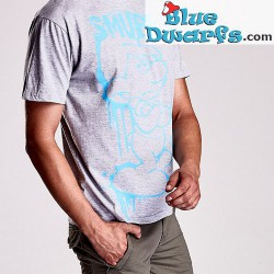 Grouchy smurf T-shirt (Size L)