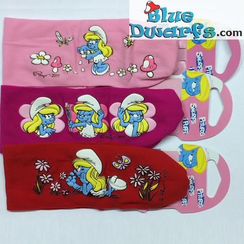 3 smurf hairbands for children