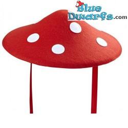 Mushroom hat felt (+/- 34cm)