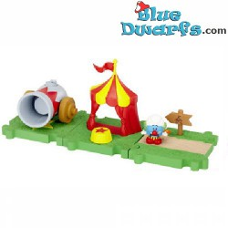 Clown Smurf Starters set *Jakks Pacific Micro village*