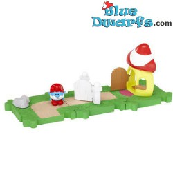 Hefty Smurf Starters set *Jakks Pacific Micro village*