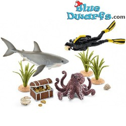 WILD LIFE:Treasure hunt diver (Schleich/ 42329)