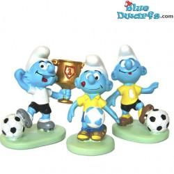Paben: 3 pitufos fútbol