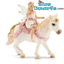 Bayala: Schleich Bayala lily elf on pony (70501)