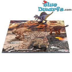 4 mini Schleich dinosaures + puzzle (Schleich/ 42213)