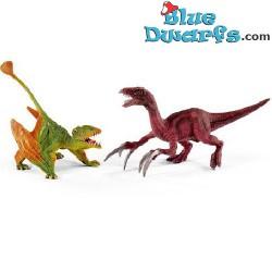 Dinosaurierset Dimorphdon und Therizinosaurus (Schleich/ 41425)