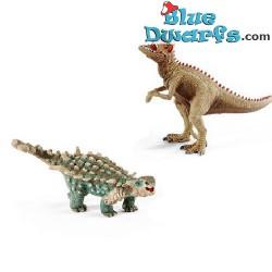 Kit de dinosaures: Petits saichania et giganotosaurus (Schleich/ 41426)