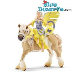 Bayala: Schleich Bayala Sera on horse (70503)