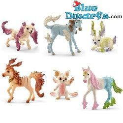 Bayala: Schleich Magic animals (70526-70531)