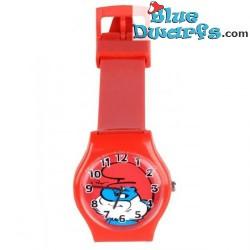 Grand  Schtroumpf horloge *MERISON*