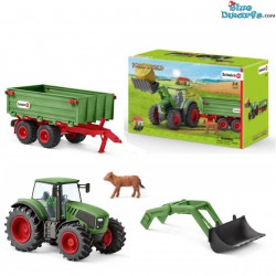 Schleich Farmlife: Tractor with trailer (42379)