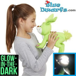 Bucky rabbit Plush GLOW (Smurfs 3: The lost village) *Jakks Pacific*