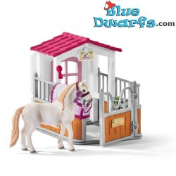 Schleich Horses: 42368Horse stall with Lusitano mare (Horse club)