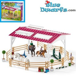 Schleich Horses: Riding school with riders and horses (Horse club/ Schleich 42389)