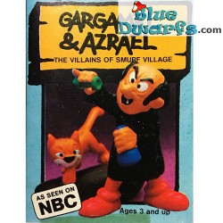 40211: Gargamel and Azrael (Supersmurf/ MIB)