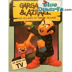 40211: Gargamel and Azrael (Supersmurf/ MIB)