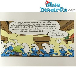 Smurf offset print Limited edition 100 pieces (+/- 40x30 cm)