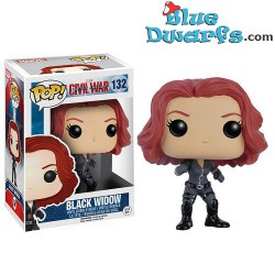 Funko Pop! Cartoons Civil War: Black Widow (Nr. 132)
