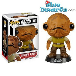 Funko Pop! Star Wars: Admiral Ackbar (Nr. 81)