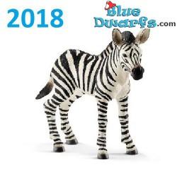 Schleich Wildlife 2018:  Zebra Fohlen (14811, +/-8,5 x 3,2 x 7 cm)
