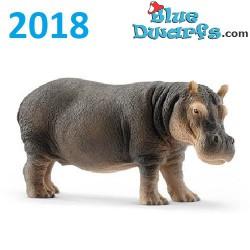 Schleich Wildlife 2018: Hippopotame (14814, +/-13 x6 x 5 cm)