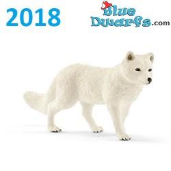 Schleich Wildlife 2018: Polar fox (14805, +/-9 x4 x 2 cm)