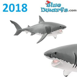 Schleich Wildlife 2018: Great white shark (14809, +/-18 x6 x 8 cm)