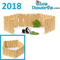 Schleich Wildlife 2018: Panda enclosure with panda (42429)