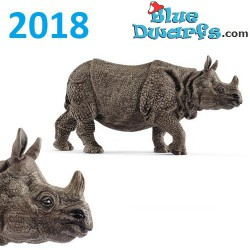 Schleich Wildlife 2018: Indian rhinoceros (14816, +/-14 x6 x 5 cm)