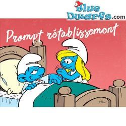 """Carte postale: """"Prompt rétablissement"""" (15 x 10,5 cm)"""