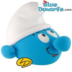 Smurf Plush: Smurf head pillow LEBLON DELIENNE (+/- 35cm)