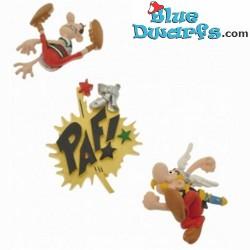 Plastoy 3 x mini Magnet Asterix  *PAF* (Nr. 70023)