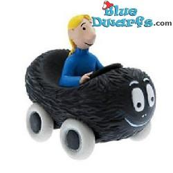 Plastoy:  Barbabob & Claudine met auto (Nr. 80603)