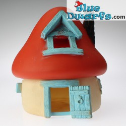 Big smurf house *blue/red/white* (VG)