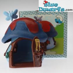 49013: Cottage blue/red