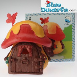 49011: Smurf cottage Red/orange
