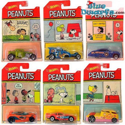 Hotwheels6cmBluedwarfs Peanuts Voiture Voiture Hotwheels6cmBluedwarfs 6x Voiture 6x Peanuts 6x Voiture Hotwheels6cmBluedwarfs Peanuts 6x Peanuts TKJ1cF3l