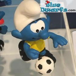 20904- 20909: 6x 2018 New Soccer Smurfs Schleich