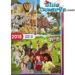 Smurf catalogue Schleich 2017
