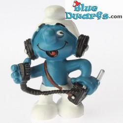 20143: Radio CB Operator Smurf