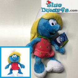 Smurf Plush: Smurfette *STRAWBERRY* (+/- 30 cm)