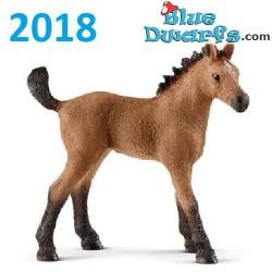 Schleich paarden 2018: Quarter horse veulen (13854)