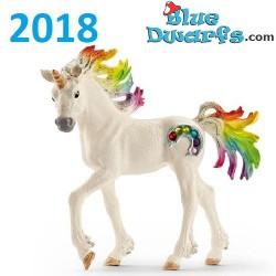 Bayala: Schleich Bayala Rainbow unicorn foal (70525/ 2018)