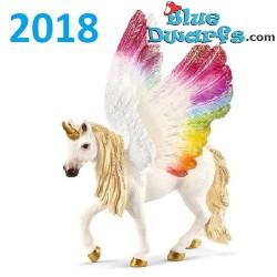 Bayala: Schleich Bayala winged Rainbow unicorn mare (70576/ 2018)