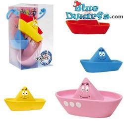 Plastoy: 4 bathtoys (Barbapapa boats)