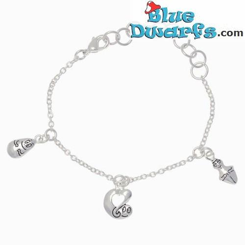 Barbapapa children bracelet SILVER COLOR (+/- 15cm)