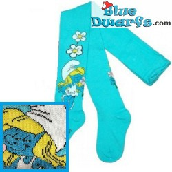 1 pair Smurf children tights (62-74cm)